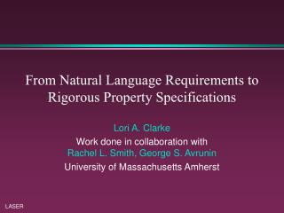 From Natural Language Requirements to Rigorous Property Specifications
