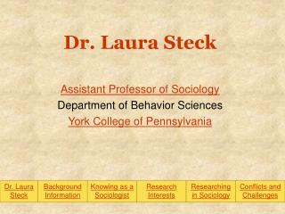 Dr. Laura Steck