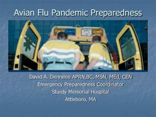 Avian Flu Pandemic Preparedness
