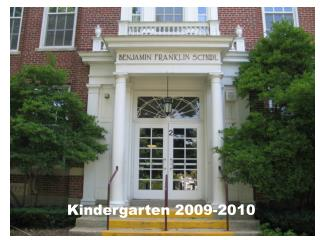 Kindergarten 2009-2010