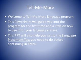Tell-Me-More