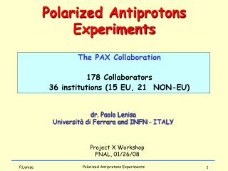 Polarization Physics
