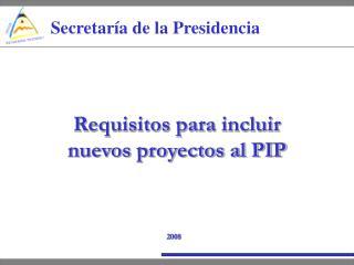 Secretaría de la Presidencia