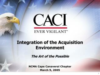 Integration of the Acquisition Environment  The Art of the Possible