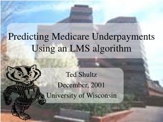 Predicting Medicare Underpayments Using an LMS algorithm