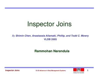 Inspector Joins