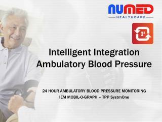 24 HOUR AMBULATORY BLOOD PRESSURE MONITORING IEM MOBIL-O-GRAPH – TPP SystmOne