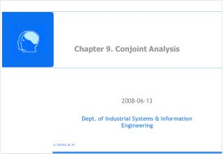 Chapter 9. Conjoint Analysis