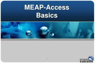 MEAP-Access  Basics