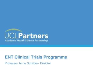 ENT Clinical Trials Programme