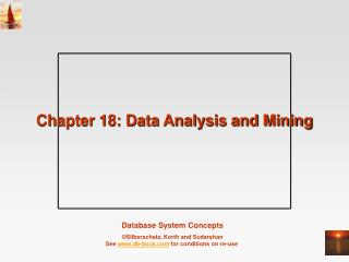 Chapter 18: Data Analysis and Mining