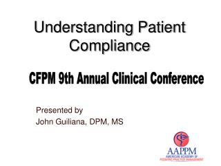 Understanding Patient Compliance