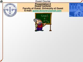 Guest Course