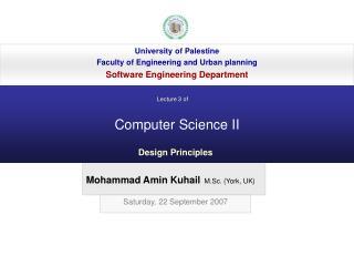 Computer Science II
