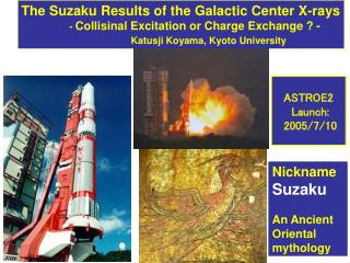 The Suzaku Results of the Galactic Center X-rays