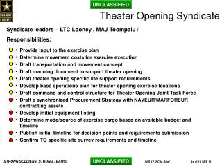 Theater Opening Syndicate