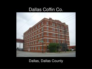 Dallas Coffin Co.