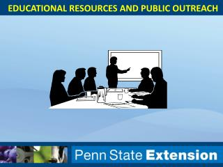 Educational resources and public outreach