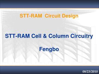 STT-RAM  Circuit Design