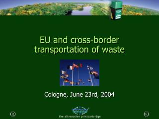 EU and cross-border transportation of waste