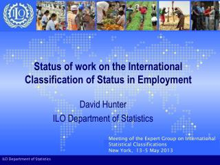 Status of work on the International Classification of Status in Employment