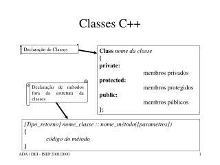 Classes C++