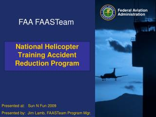 National Helicopter Training Accident Reduction Program
