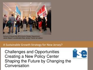 A Sustainable Growth Strategy for New Jersey?