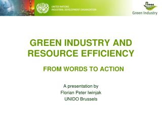 Green Industry and Resource Efficiency