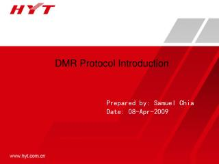 DMR Protocol Introduction