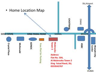 Home Location Map