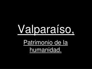 Valparaíso,
