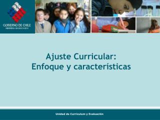 Ajuste Curricular: Enfoque y características
