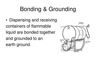 Bonding & Grounding