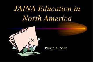 JAINA Education in North America