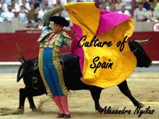 Culture of    Spain