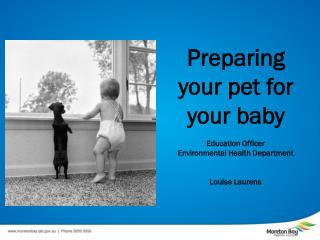 Preparing your pet for your baby