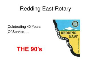 Redding East Rotary