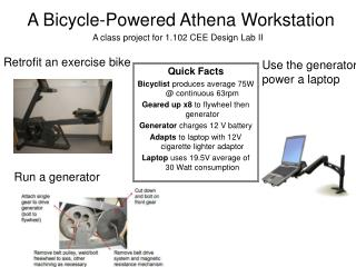 A Bicycle-Powered Athena Workstation