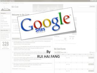 By RUI HAI FANG
