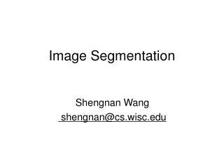 Image Segmentation