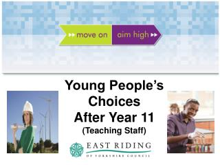 Young People's Choices After Year 11 (Teaching Staff)