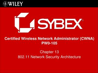 Chapter 13 802.11 Network Security Architecture