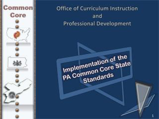 Office of Curriculum Instruction  and  Professional Development