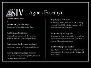 Agnes Essemyr