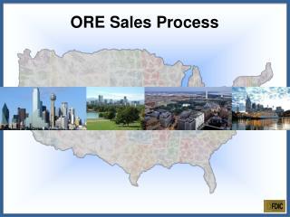 ORE Sales Process