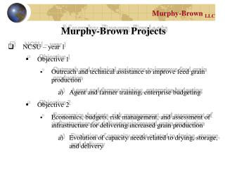 Murphy-Brown  LLC