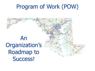 Program of Work (POW)