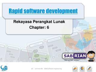 Rapid software development