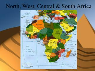 North, West, Central & South Africa